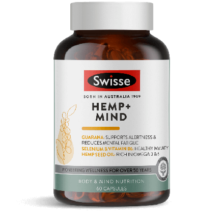 Swisse Hemp + Mind