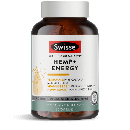 Swisse Hemp + Energy