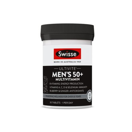 Ultivite Men's 50+ Multivitamin