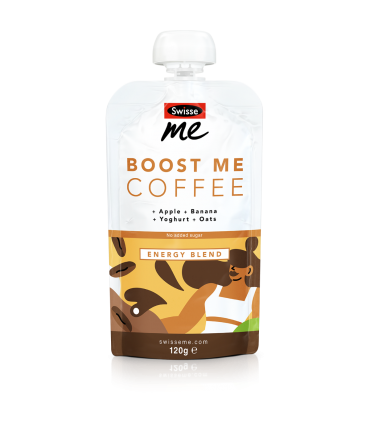 Boost Me Coffee breakfast blend front