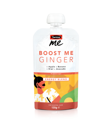 Boost Me Ginger energy blend front