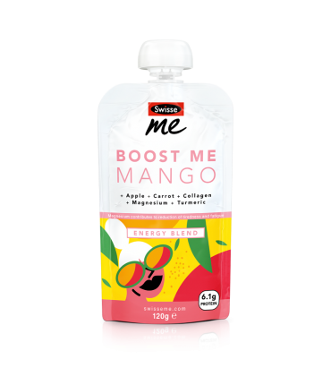 Boost Me Mango energy blend front