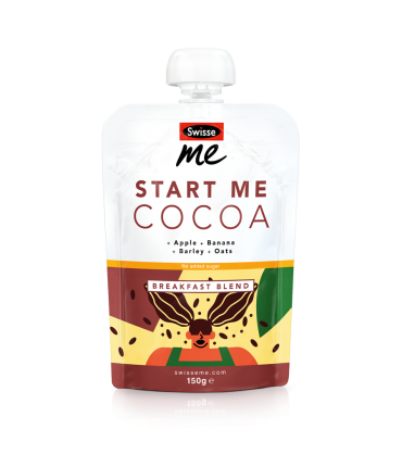Start Me Cocoa breakfast blend front