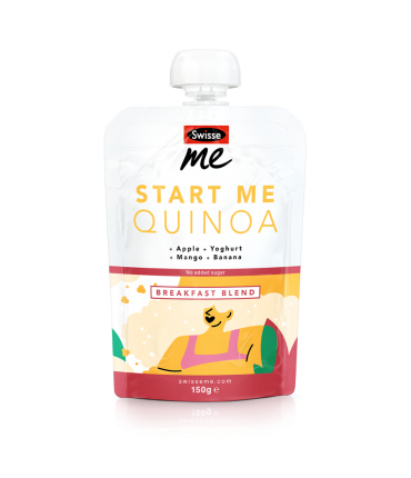 Start Me Quinoa breakfast blend front