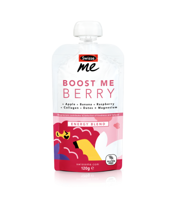 Boost Me Berry energy blend front
